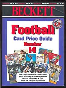 Beckett Football Card Price Guide 2019: Beckett Media ...