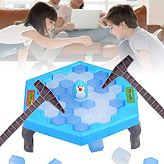 Ice-Block Breaking Game Save Penguin Table Game Penguin Trap Activate Funny Family Party Ice Breaking Kids Puzzle Table Knock Block Ice-Block Breaking Game Toys