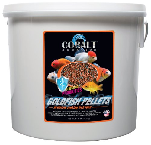 Cobalt Aquatics Goldfish Color Pellet, 8 lb by Cobalt