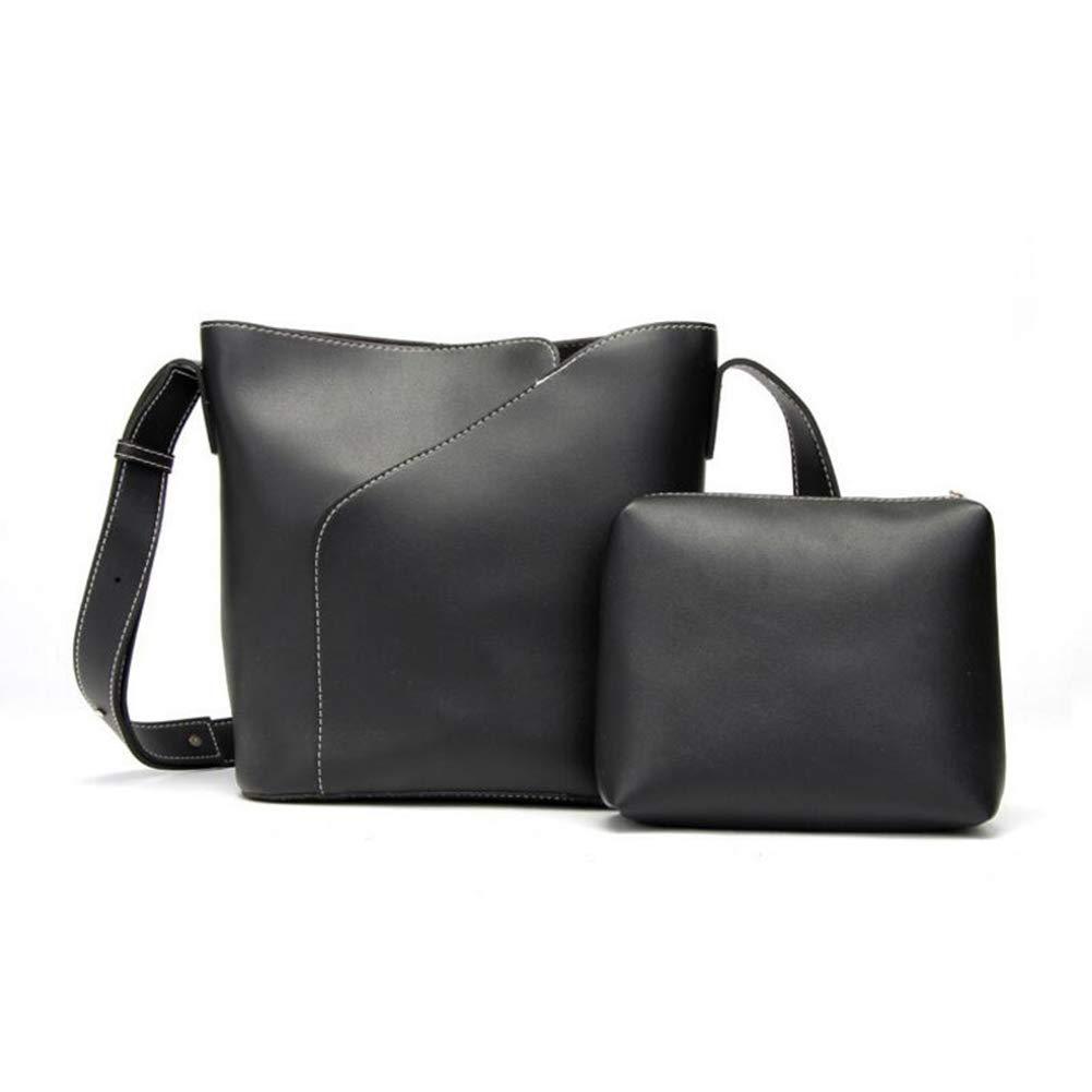 Satchel Top-Handle Bags Totes Shoulder Messenger Bag Ladies Cross-Body 2pcs Set Tote Bag Work Shopping Date Color : E, Size : 292611CM Qzny Womens Handbag