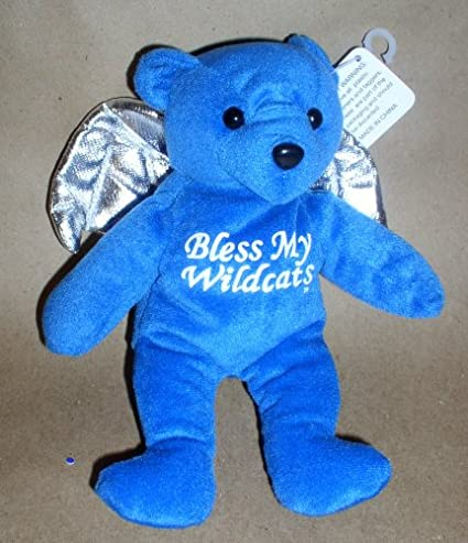 Amazon Com University Of Kentucky Bless My Wildcats Angel Bear 8