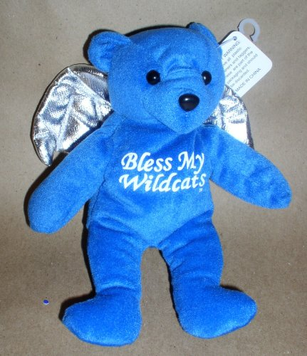 University of Kentucky Bless My Wildcats Angel Bear 8 (Personalized Angel Bear)