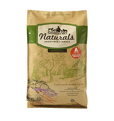 Country Vet Naturals Grain Free 28/16 Protein Formula Probiotic Dog Food (Chicken) 30 Pounds For Sale