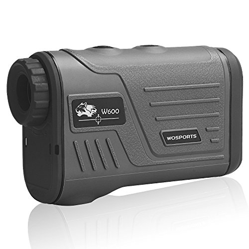 Wosports Golf Rangefinder Laser Hunting Range Finder with Flagpole Lock – Ranging – Speed Function 5-700 Yard