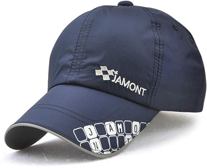 sdssup Gorra Ligera Sombrero Sombrero hasta Que la Gente juegue Sombrero Azul Oscuro Ajustable: Amazon.es: Hogar