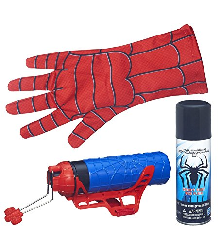 [Marvel The Amazing Spider-Man 2 Mega Blaster Web Shooter with Glove] (The Amazing Spider Man All Costumes)