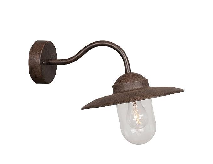 Plafoniera Da Esterno Ruggine : Nordlux lampada da parete luxembourg w e ip