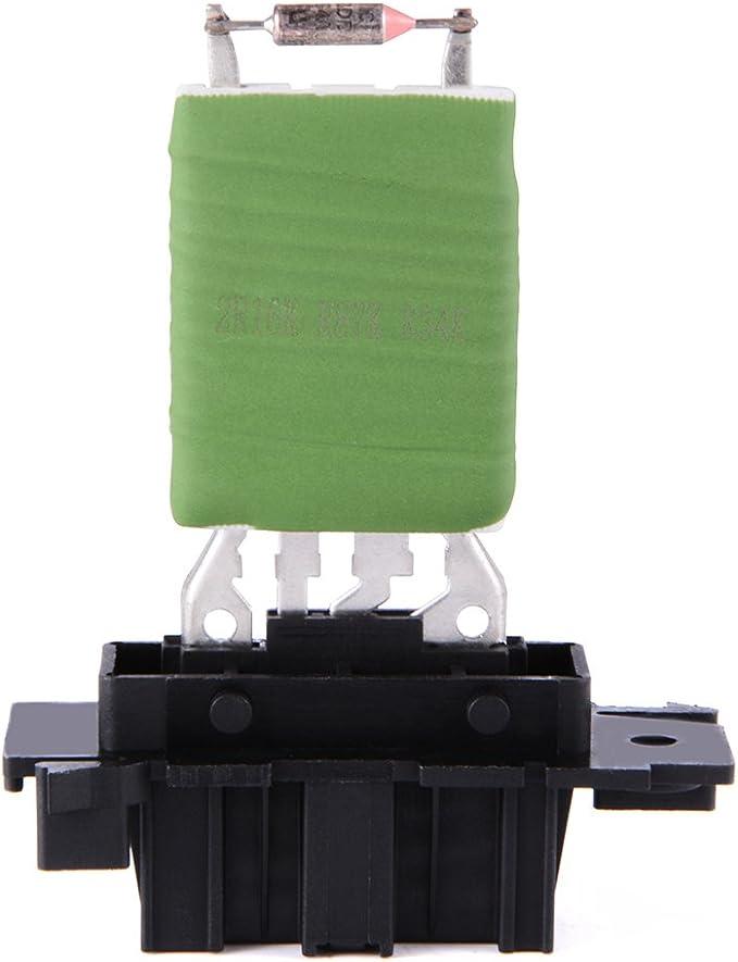 XCSOURCE Calentador Motor Resistencia del soplador Aire acondicionado Ventilador Resistencia de velocidad Reemplazo Para Citroen / Peut / 7701048390 6441L2 MA959: Amazon.es: Coche y moto