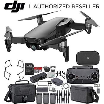 DJI Mavic Air Drone Quadcopter Fly More Combo (Onyx Black) Travel Bundle