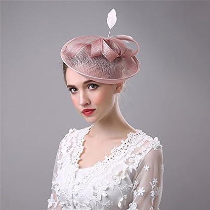 Amazon.com: the love Fascinator Pink Cambric