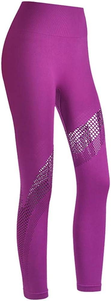 N//J Yoga Pants Womens Leggings 9 Minute Length Quick Dry Sports Yoga Wear 7AEVV8Y Black
