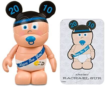 new years baby by rachael sur disney vinylmation 3 holiday series 1