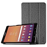 ProCase Galaxy Tab A 8.0 2017 T380 T385 Case, Slim Light Smart Cover Stand Hard Shell Case for 8.0 inch Samsung Galaxy Tab A Tablet 2017 T380 T385 -Lightgrey