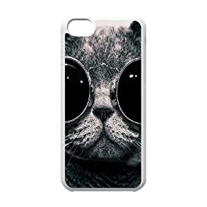 Cell phone Iphone 5C Protection Cover Hard Case Of Cat by icecream design