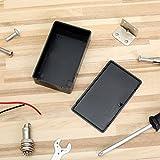 Uspeedy 10 Pieces Plastic Electronic Project Case