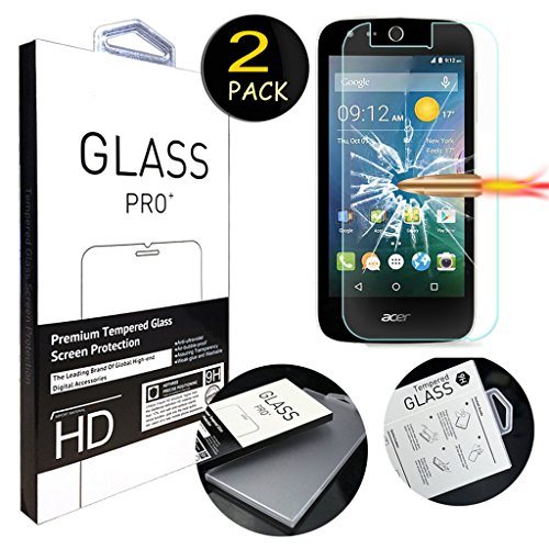 Tempered Glass for Acer Liquid Z330 (Clear) - 3