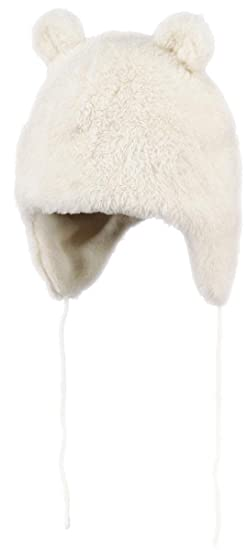 Barts-Chapka Fourrure Polaire Blanc Ivoire bébé Fille du 12 au 18 Mois   Amazon.fr  Vêtements et accessoires 6e358a3995f