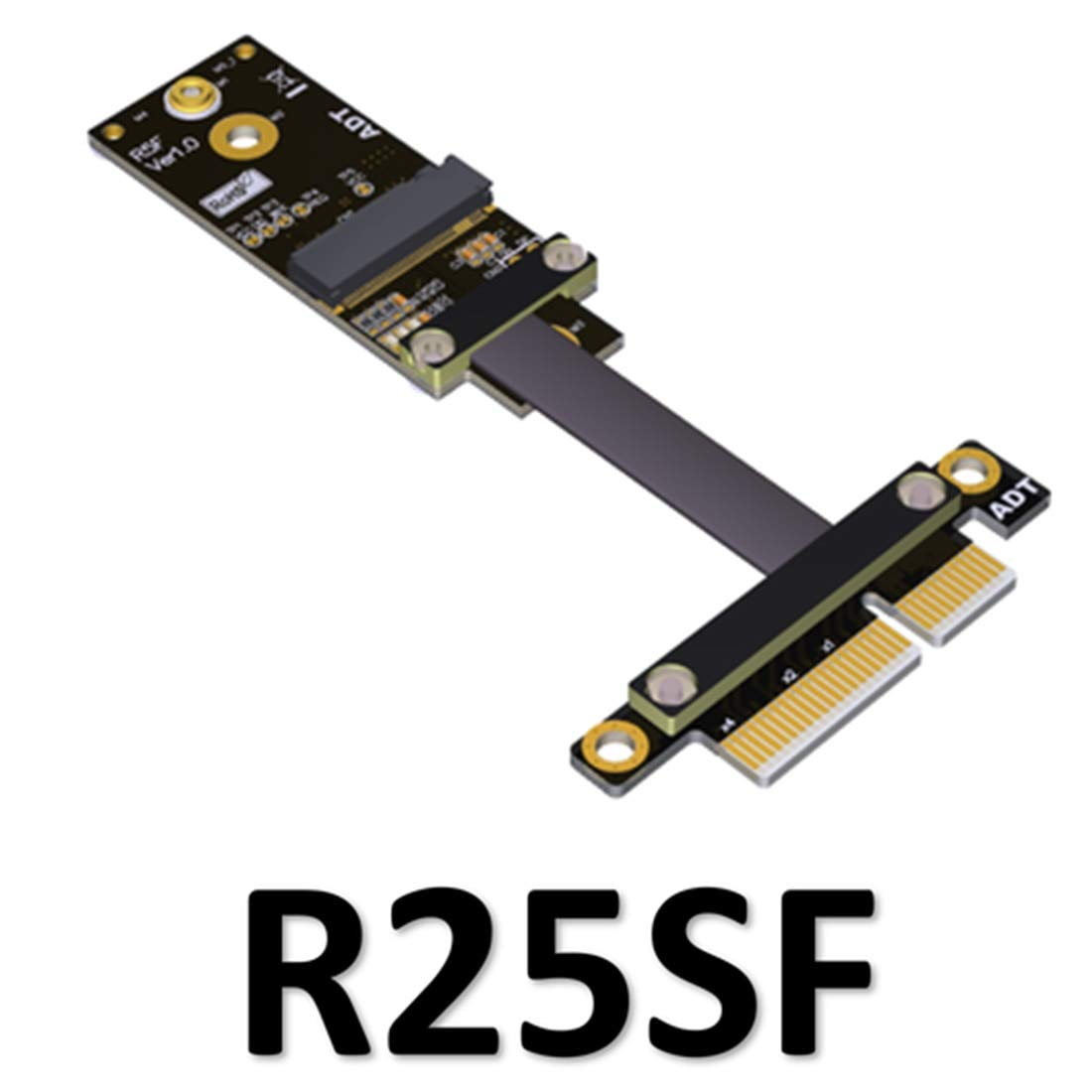 40cm Key WiFi Adapter Card Extension Riser Cable PCI-Express M2 A E Key Conversion Adapter ADT-Link PCIe x4 to M.2 A.E