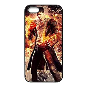 dmc devil may cry iPhone 5 5s Cell Phone Case Black 53Go-319528