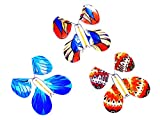 3pcs Magic Flying in the Book Wind Up Butterfly Novelty Gag Toy
