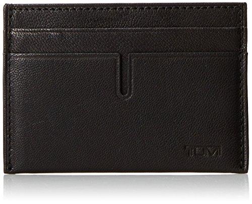 TUMI Men's Chambers Money Clip Card Holder, Black, One Size