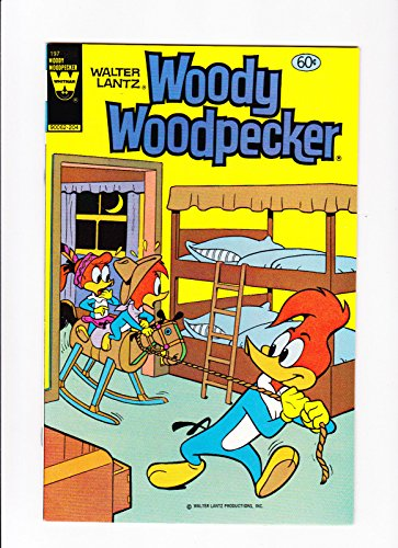 Woody Woodpecker Art - Woody Woodpecker No.197 1982 Rocking Horse Cover