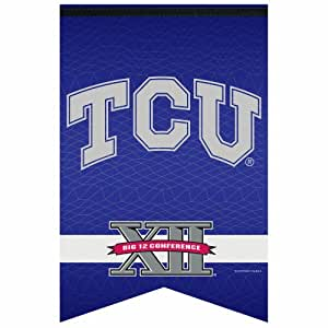 NCAA Big 12 Conference Premium Felt Banner 17-by-26