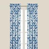 C&F Home Sasha Blue Window Drapery Panel Drapery Panel Blue