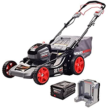 Amazon Com Powerworks 60v 21 Inch Sp Mower 5 0ah