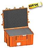 Explorer Cases 7745 O Waterproof Dustproof Multi-Purpose Protective Case with Foam and Wheels, Orange