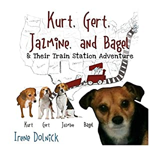 Kurt, Gert, Jasmine, and Bagel and Their Train Station Adventure