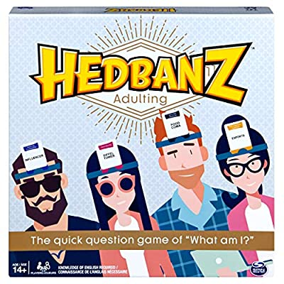 Hedbanz Adulting, Hilarious Party Game of Guessing and Charades for Millennials: Toys & Games