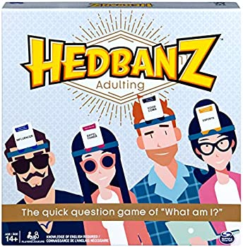 Spin Master Hedbanz Adulting Hilarious Party Game