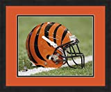 """Photo File NFL Cincinnati Bengals, Beautifully Framed and Double Matted, 18"""" x 22"""" Sports Photograph"""