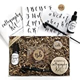 #9: Calligraphy Starter Kit - Beginner Calligraphy Lettering Set - Beginning Modern Calligraphy DIY Kit - Oblique Pen Hand Lettering with Nib