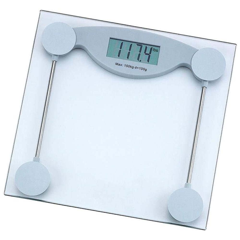 Amazon scale bathroom - Amazon Com Healthsmart Elscale3 Health Smart Glass Electronic Bathroom Scale Home Kitchen
