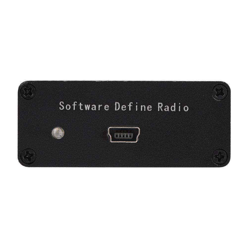 Richer-R USB-Tuner DIY Kit 100 kHz-1,7 GHz Vollband UHF UKW HF RTL-SDR USB Tuner Empf/änger DIY Kits mit U//V Antenne,Tragbar USB TV Tuner Reciever DIY Schwarz