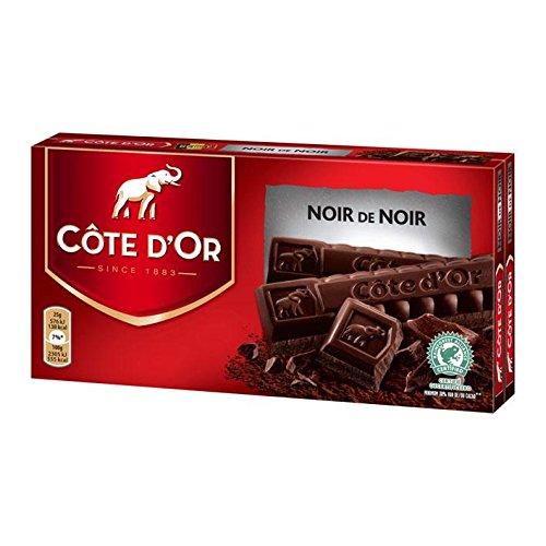 Cote Dor Chocolate Noir | Extra Dark | Two Bars | 400g/14.1 oz Total