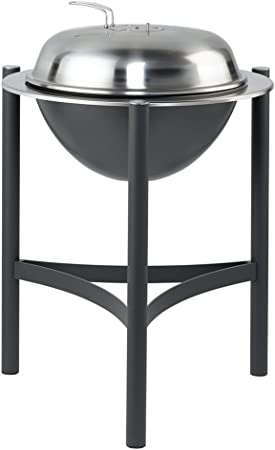 Imagen deDancook 1800 Grill Firewood Kettle Black,Grey - Barbacoa (Grill, Firewood, Kettle, Black,Grey, Round, Aluminium,Steel)