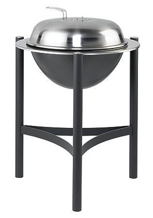 Dancook 1800 - Barbacoa de acero inoxidable y aluminio (diámetro: 58 cm)