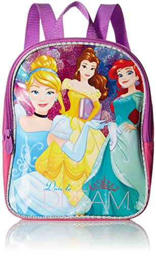 (Disney Girls' Princess 10 Mini Backpack, Pink)