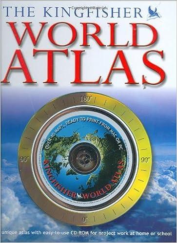 The Kingfisher World Atlas: Philip Wilkinson: 9780753408131