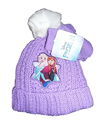 "Amazon.com: Toddler Girls Frozen ""Anna & Elsa"" Purple"