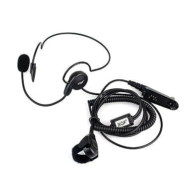 Earpiece Headset for Motorla PRO5150 5350 7150 HT750 HT1250 GP328
