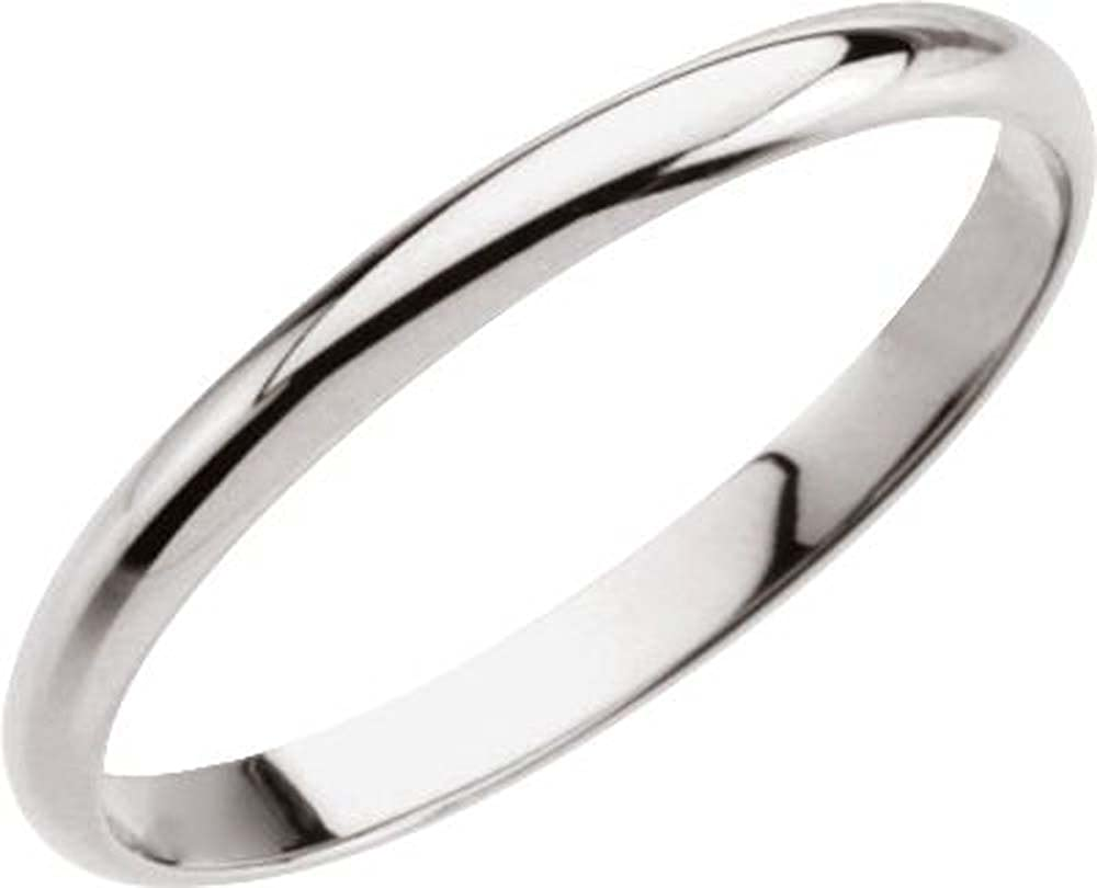 Size 3 14k White Gold Kids Ring