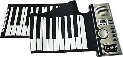 YIHANGG 61 Teclas Rollo De Mano Piano Portátil Plegable ...