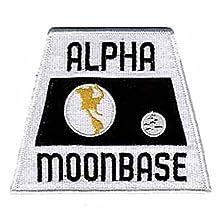 Alpha Moonbase Space 1999Ecusson brodé Patch 12,7cm coudre ou thermocollant