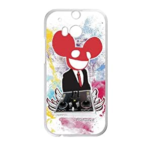 deadmau5 HTC One M8 Cell Phone Case White Gift xxy_9878214