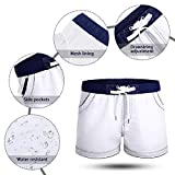 LETSQK Men's Swimwear Shorts Surf Swimsuit Swim