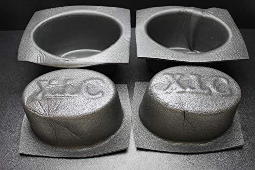 4 PCS Speaker Baffle Acoustic Foam 6'' X 9'' Oval Universal CAR Audio Bass VXT69